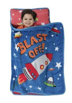 Baby Boom Nap Mat, Blast Off Gift, Baby, NewBorn, Child Great for day care, overnight, and travel