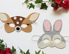 Your Kids Will Fawn Over These Bambi and Thumper Masks