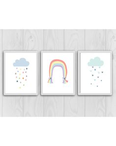 Check out this item in my Etsy shop https://www.etsy.com/ca/listing/614809433/rainbow-nursery-decor-rainbow-baby-decor