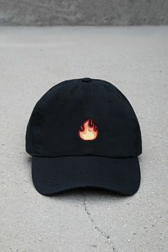3fc75b7139ce2 City Hunter Flame Dad Cap City Hunter