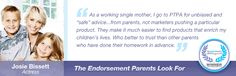 Parent tested Parent approved - good resource for products