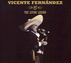 Vicente Fernández - The Living Legend (CD)