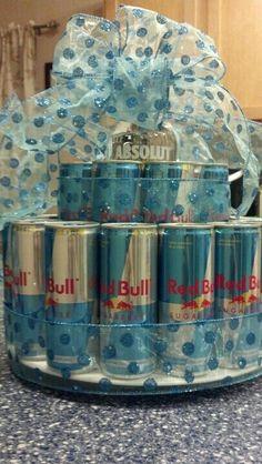 Red Bull Cake Redbull Redbullcake Diy Pinterest
