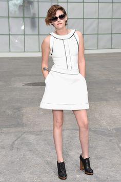 Kristen Stewart Photos: Front Row at Chanel