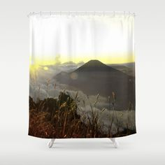 Buy YELLOW SUNRISE Shower Curtain by solit. Worldwide shipping available at Society6.com. Just one of millions of high quality products available.