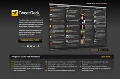 Tweetdeck - Comes in a desktop, online, and app version. I use the desktop version mostly to monitor keywords and brand interaction on Twitter across about sixty columns. You can also use it to tweet and schedule tweets, but it's not as robust as Sendible or Social Oomph in that area.