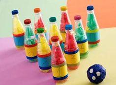 30 ideias para criar brincadeiras e brinquedos com garrafas pet
