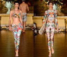 Blue Man Brasil 2014 Summer Womens Runway Collection - Fashion Rio - Rio de Janeiro Brazil Southern Hemisphere 2014 Verao Mulheres Desfile