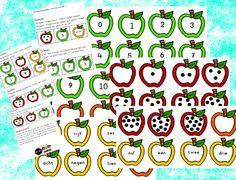 tellen met appels van katrotje met verschillende spel ideeën