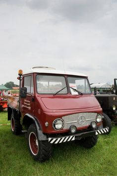 Unimog - We used to see these all over Germany when I was little.