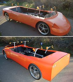 HumanCar. Built in 2011, powered by a rowing-like motion that is converted into rotational power. Alternatively, a built-in electric motor helps power the car when it is being operated by only one person.Leaning motion steers the car. Regenerative braking and an advanced power system enhance overall efficiency... ... SealingsAndExpungements.com... 888-9-EXPUNGE (888-939-7864)... Free evaluations..low money down...Easy payments.. 'Seal past mistakes. Open new opportunities.'
