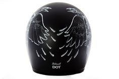 Custom Lids Crow | Back