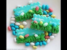 Easter Egg Hunt Cookies - Moms & Munchkins