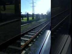 Il treno da Firenze Porta a Prato alle Piagge. La periferia occidentale ...