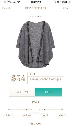 I am in LOVE with this cardigan! I love how flowy it is and the color.