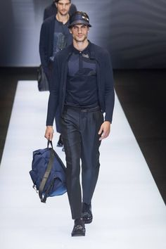 Emporio Armani Spring-Summer 2017 - Milan Fashion Week #MFW