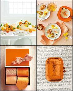 tangerine + neutrals