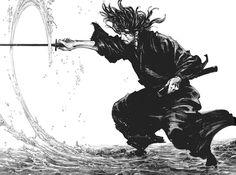 красивые картинки,Takehiko Inoue,First Strike,самурай
