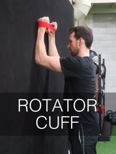Check out these 20 rotator cuff strengthening exercises to help stabilize the muscles around the shoulder joint, shown here by physio resident and sports per. Shoulder Rehab Exercises, Shoulder Stretches, Shoulder Workout, Frozen Shoulder Exercises, Body Fitness, Sport Fitness, Gym Workout Videos, Gym Workouts, Rotator Cuff Strengthening