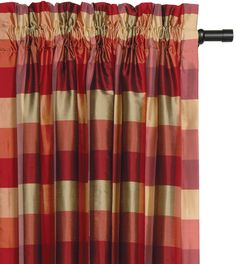 Beckford Melon Curtain Panel from Eastern Accents