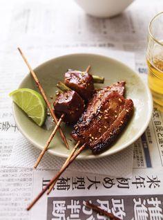 Recette de Ricardo de sauce à laquer japonaise pour brochettes de porc
