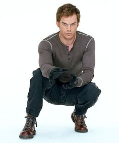 Dexter in his Kill Outfit...DAMN!!!!