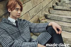 Lee Jong Suk | marie claire November Issue '15