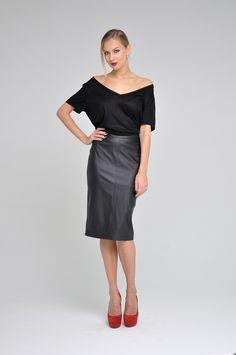Alexandra Kazakova skirt on rus-design.com! Buy it now! #alexandrakazakova #skirt #rusdesigncom #russiandesigners #rusdesign #design #fashion #style #pic #designers #veganleather #российскиедизайнеры #юбки #дизайнеры #стиль #мода #александраказакова
