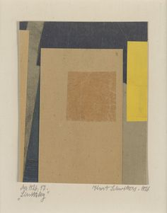 MoMA | The Collection | Kurt Schwitters. Merz 1926 17. Lissitzky. 1926