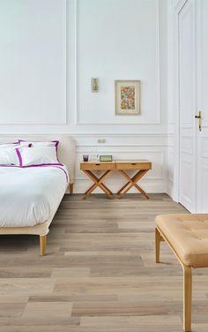 Moduleo Moods vinyl vloer met houtlook in de slaapkamer #interieur