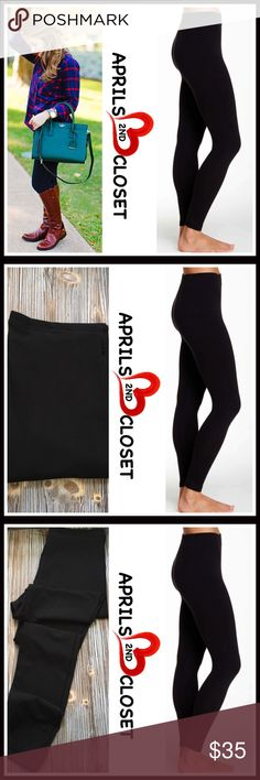 "⭐️⭐️ BLACK LEGGINGS 💟NEW WITH TAGS💟  BLACK LEGGINGS  * Elasticized thin waist   * Stretch to fit  * Lightweight yet completely opaque  * Approx 9"" rise & 28"" inseam, size S  * Super soft, high quality matte fabric  * Will not fade or shrink; Machine wash.  * Size S - 4'11'-5'9"", 100-150 LBS, 2-6 * Size M - 5'3""-6'0"", 120-170 LBS, 6-10 * Size L - 5'2""-6'0"", 150-210 LBS, 10-14 * Size XL- 5'4""-6'0"", 180-225 LBS, 12-16 FABRIC-56% cotton, 37% modal, 7% spandex Color: Black Item# #  🚫No…"