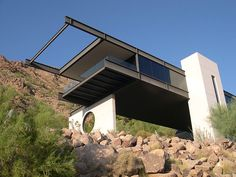 Modern architecture inspired by Mexican architect Agustin Hernandez
