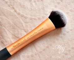 Real Techniques  Expert Face Brush. The BEST foundation brush, I've used.