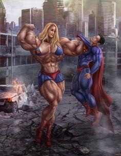 muscle c growth girls porn cartoon