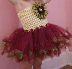 Creme Brulee Tutu Dress Set by LittlePumpkinLove