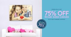 Shop now for the perfect Valentine's Day gift! 75% off 30x40 canvas, 70% off other sizes, & free shipping! #Sale ends 1/24: http://www.easycanvasprints.com/single-canvas?utm_campaign=TW30X40CANVAS&pcode=5A434E2F757762684C562B5978552F4B374B2F3861413D3D
