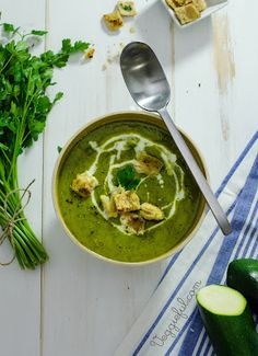 Veggieful: Vegan Zucchini Soup Recipe