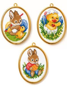 Cross Stitch Cards, Cross Stitch Flowers, Cross Stitch Kits, Counted Cross Stitch Patterns, Cross Stitch Embroidery, Hand Embroidery, Hama Beads Disney, Easter Cross, Easter Projects