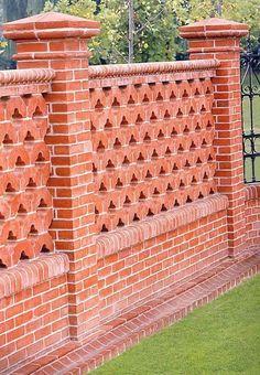 garden fence clay brick FORNACE BALLATORE GIUSEPPE