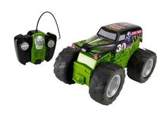 Hot Wheels RC Monster Jam Grave Digger Vehicle by Mattel. $59.99. From the Manufacturer                Hot Wheels RC Monster Jam Grave Digger: Grave Digger isn't older, he's better - and badder to the bone than ever before. Commemorating the 30th anniversary of Grave Digger, this RC truck features realistic sound and car-crushing tires that roll over obstacles in the way. With authentic details and a full-function controller, this vehicle is ready for monster actio...