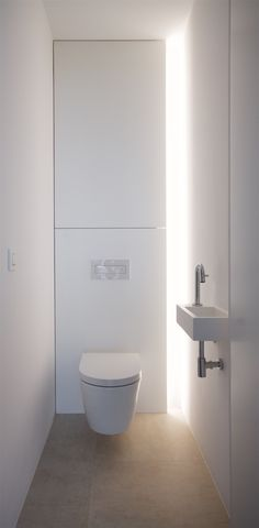 When you're trying to create or remodel a small bathroom, focusing on small bath design is critical. Bathroom Layout, Modern Bathroom Design, Bathroom Interior Design, Contemporary Bathrooms, Bathroom Storage, Interior Decorating, Small Toilet Design, Small Toilet Room, Minimalist Toilets