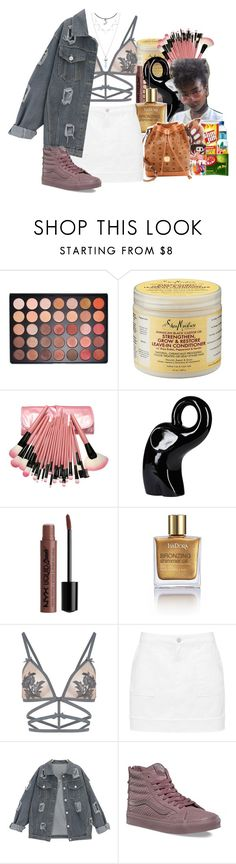 """""""We Are Beautiful No Matter What They Say"""" by denise-loveable-bray ❤ liked on Polyvore featuring Morphe, SheaMoisture, NYX, Isadora, For Love & Lemons and Vans"""