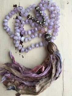 Bohemian glam CARNIVAL inspired purple faceted by MarleeLovesRoxy