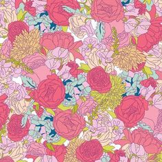 Print and Pattern, fabric fabric, surface design, surface pattern, floral