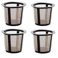 (4) K Cup Filter Basket For Keurig My K-Cup * Learn more by visiting the image link.