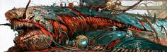 http://wellofeternitypl.blogspot.com Age of Sigmar Artwork | Kharadron Overlords | #artwork #art #aos #warhammer #ageofsigmar #sigmar #arts #artworks #gw #gamesworkshop #wellofeternity #wargaming