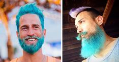 I love pretty much everything about this. Merman Trend: Men Are Dyeing Their Hair With Incredibly Vivid Colors | Bored Panda