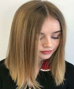55 Amazing Blends Of Balayage Hair Color 2018 Medium Hair Cuts, Medium Hair Styles, Short Hair Styles, Balayage Straight Hair, Hair Color Balayage, Chic Hairstyles, Long Bob Hairstyles, Woman Hairstyles, Gorgeous Hairstyles