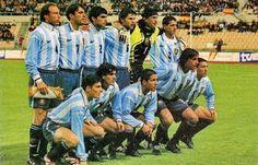 EQUIPOS DE FÚTBOL: SELECCIÓN DE ARGENTINA 1999-2000