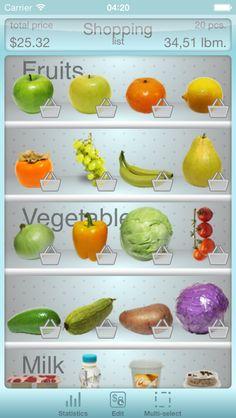 Fridge in your pocket - Grocery List Free Download App Store:  https://itunes.apple.com/app/id646932691